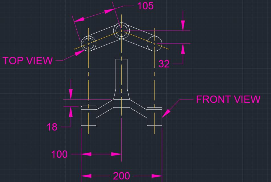 Fox Float 34 27.5+ Crown Dimensions (mm)