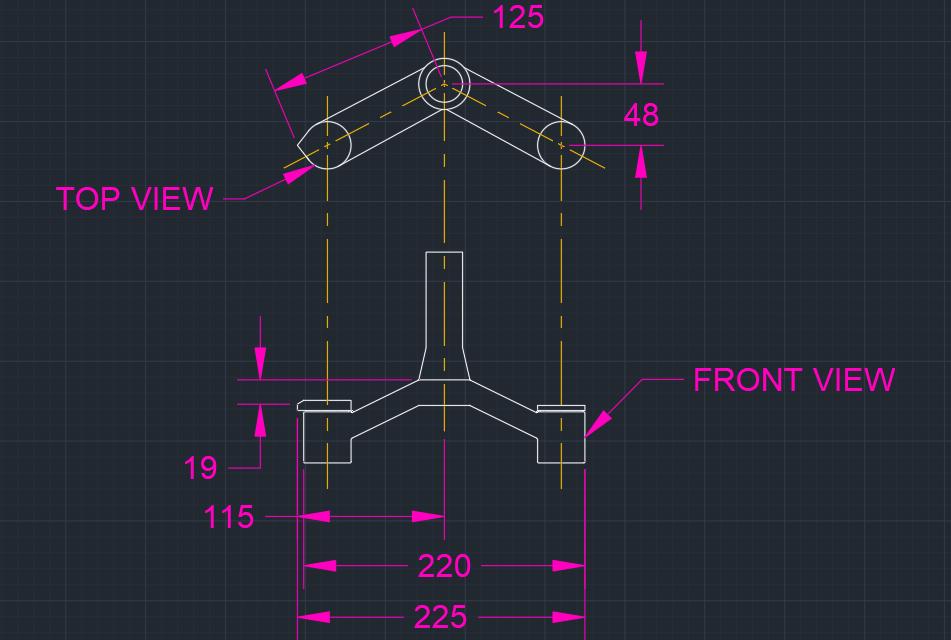 Rockshox Bluto Crown Dimensions (mm)