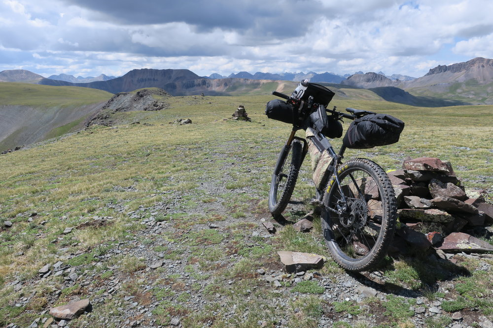Spank My Brass on Segment 23 of the Colorado Trail between Lake City and Silverton
