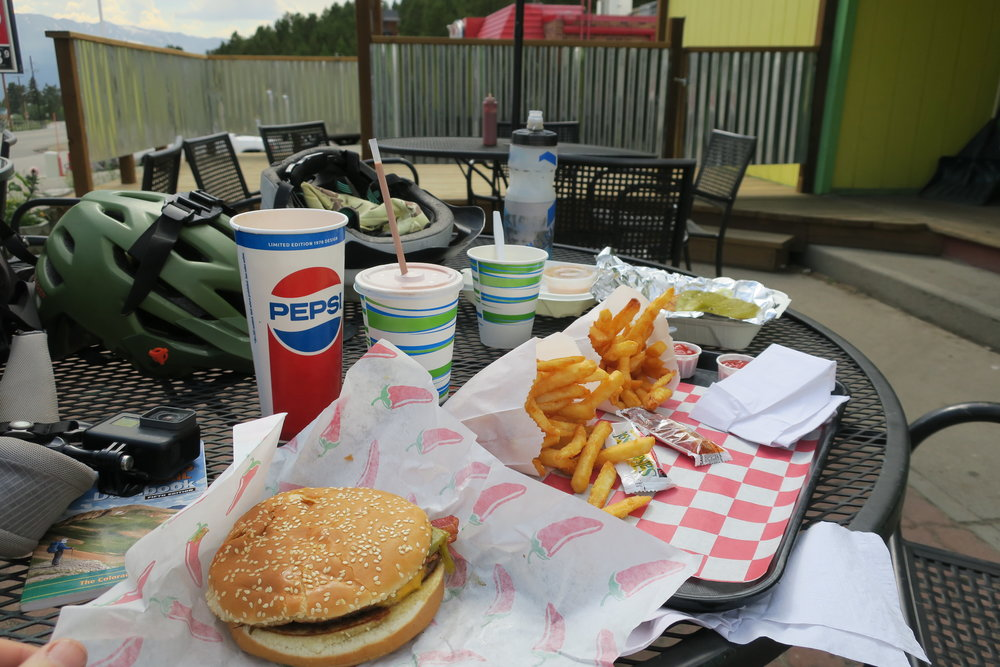 Dinner in Leadville