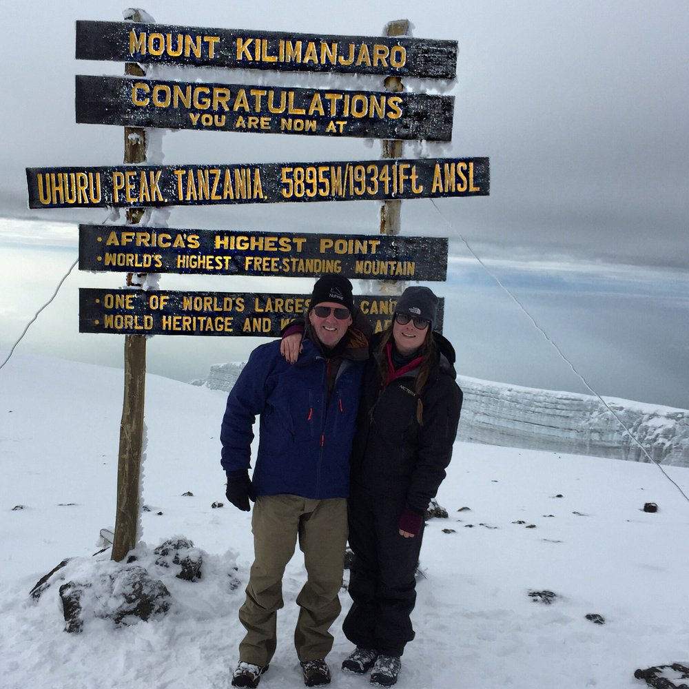 Kilimanjaro - Location: AfricaHeight: 19,341 ft / 5,895 mSummit Date: January 7th, 2015Route: RongaiTrip Length: 6 daysCompany: G Adventures