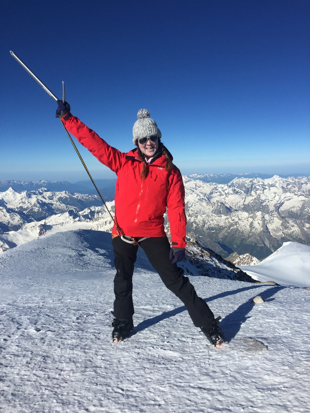 Elbrus - Location: RussiaHeight: 18,510 ft / 5,642 mSummit Date: July 2nd, 2017Route: SouthTrip Length: 7 daysCompany: Madison Mountaineering