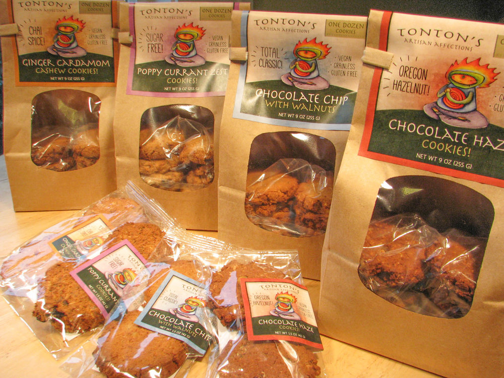 GLUTEN FREE - LOCAL ORGANIC VEGAN BAKED GOODS