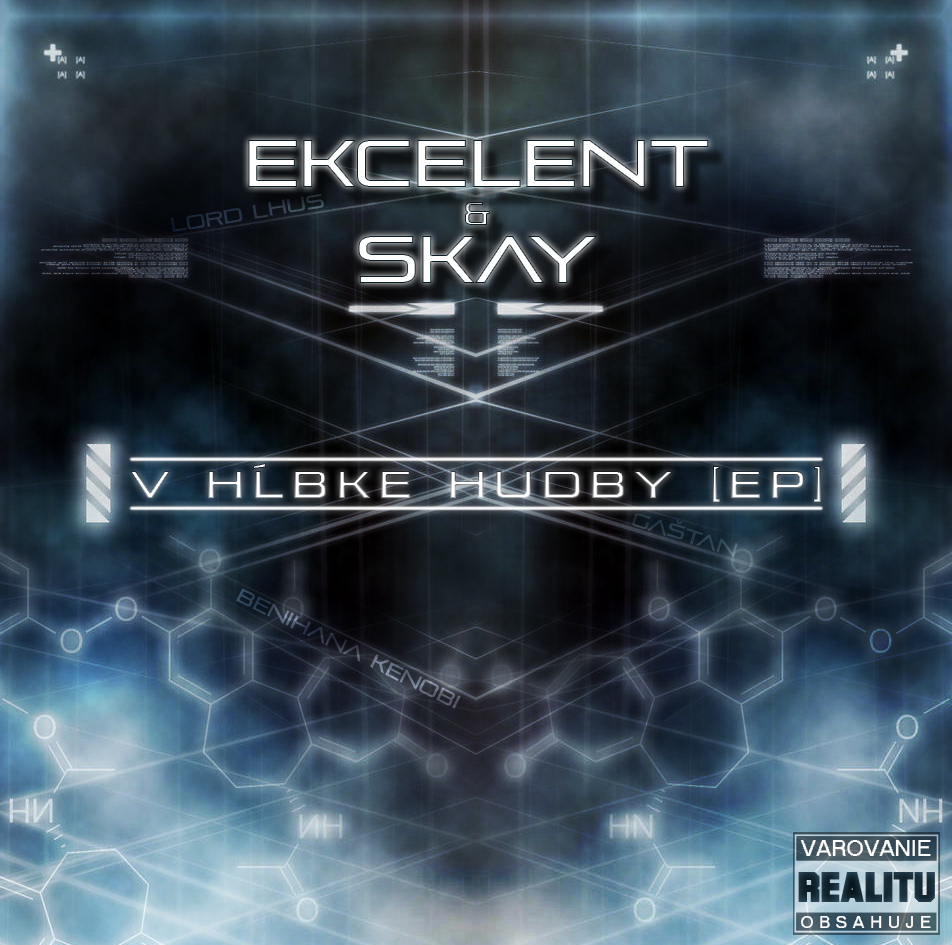 Ekcelent & Skay - V hĺbke hudby [EP] [Front].jpg