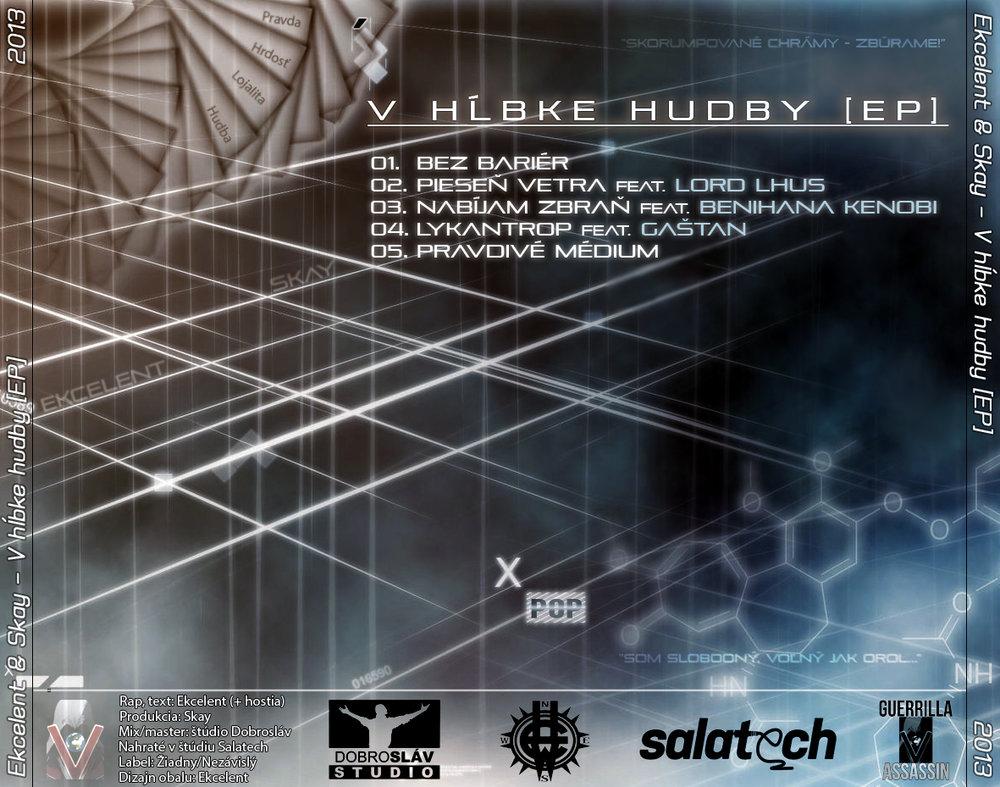 Ekcelent & Skay - V hĺbke hudby [EP] [Rear].jpg