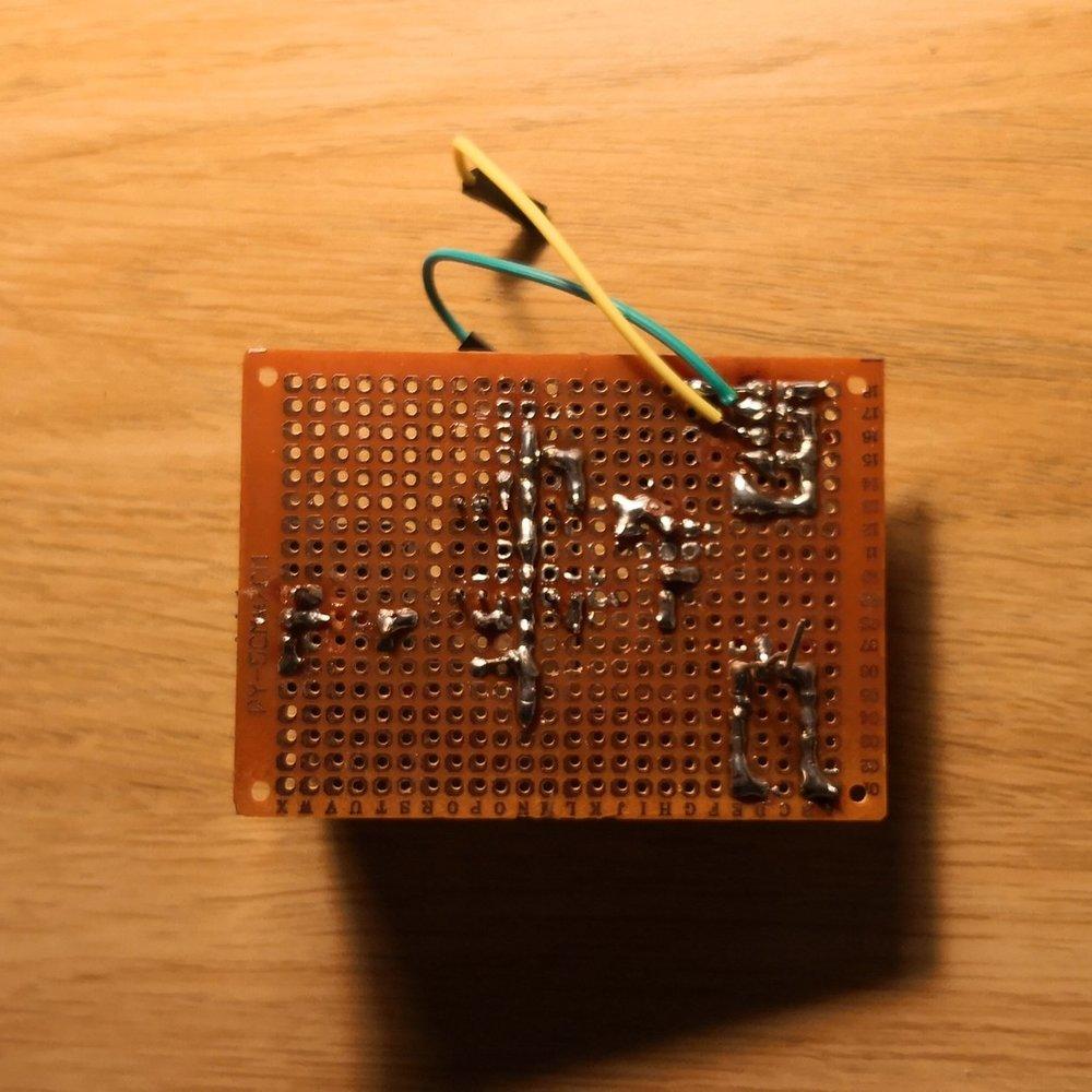 Färdig PCB med alla komponenter (sekundär)