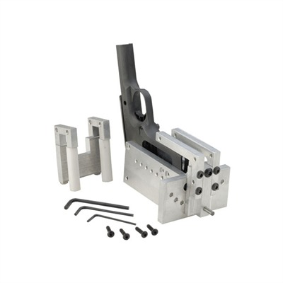 Marvel Precision 1911 Checkering Fixture - Produces Accurate, Beautiful, Hand-Cut Checkering in any LPI SpacingProfessional-quality fixture helps you produce straight, accurate, front strap frame checkering on your very first try. Clamps to any single stack, Govt. length frame and provides repeatable indexing for vertical and horizontal cuts, plus the initial undercut. If used correctly, this CNC-machined fixture will make it very difficult to make a mistake. Accepts all wide checkering files. Includes well written, well illustrated instructions.