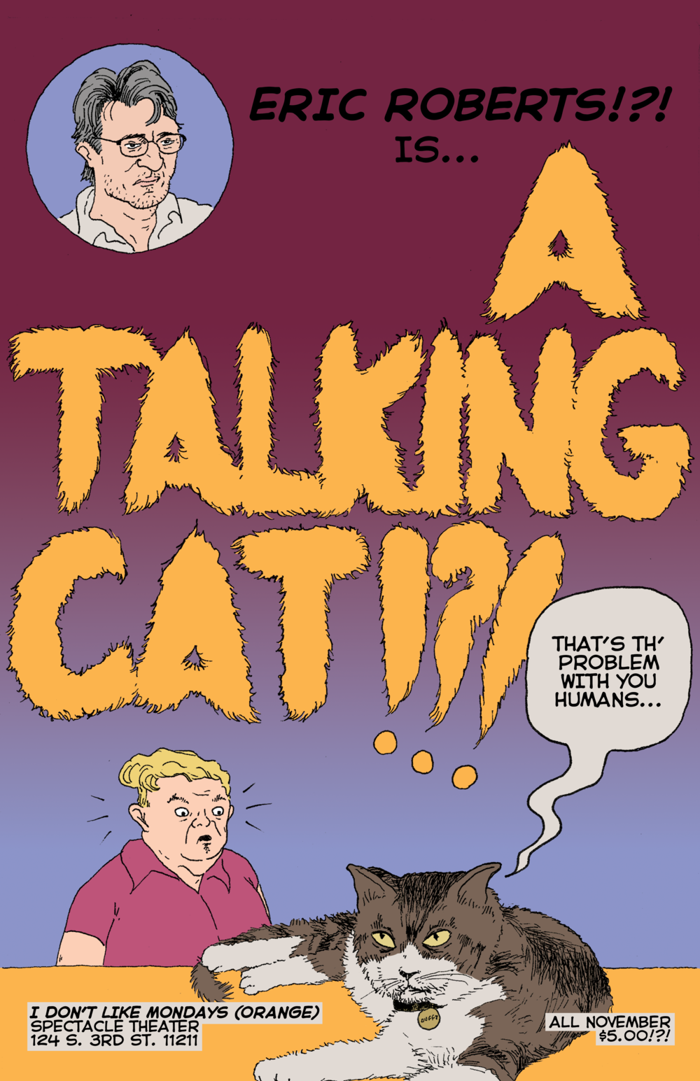 """A Talking Cat!?!"""