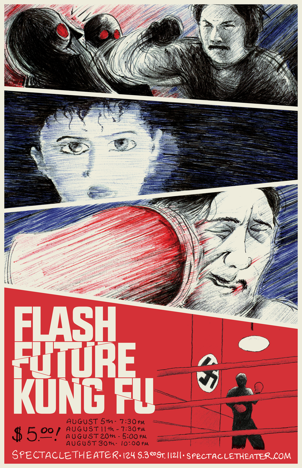 """Flash Future Kung Fu"""