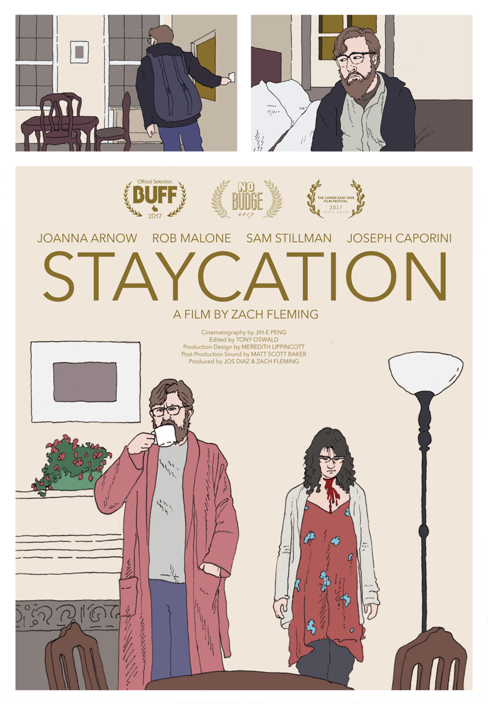 """Staycation"""