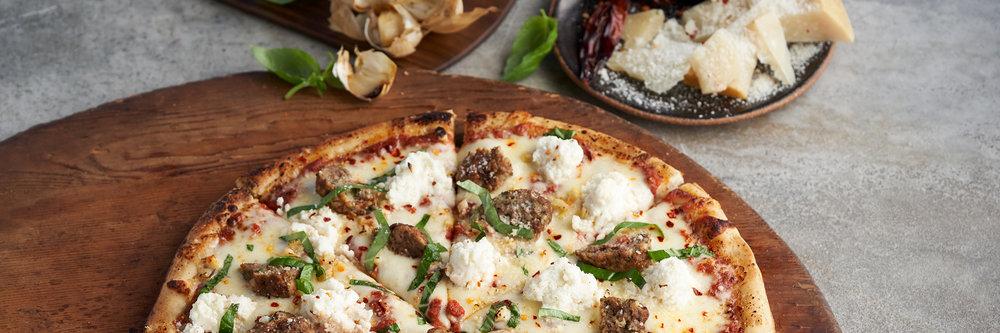 un-modernizing pizza and modernizing delivery. -