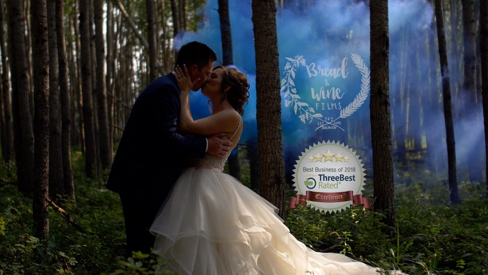 Wedding Videography Recognized For Excellence - Friends that care about you and your day