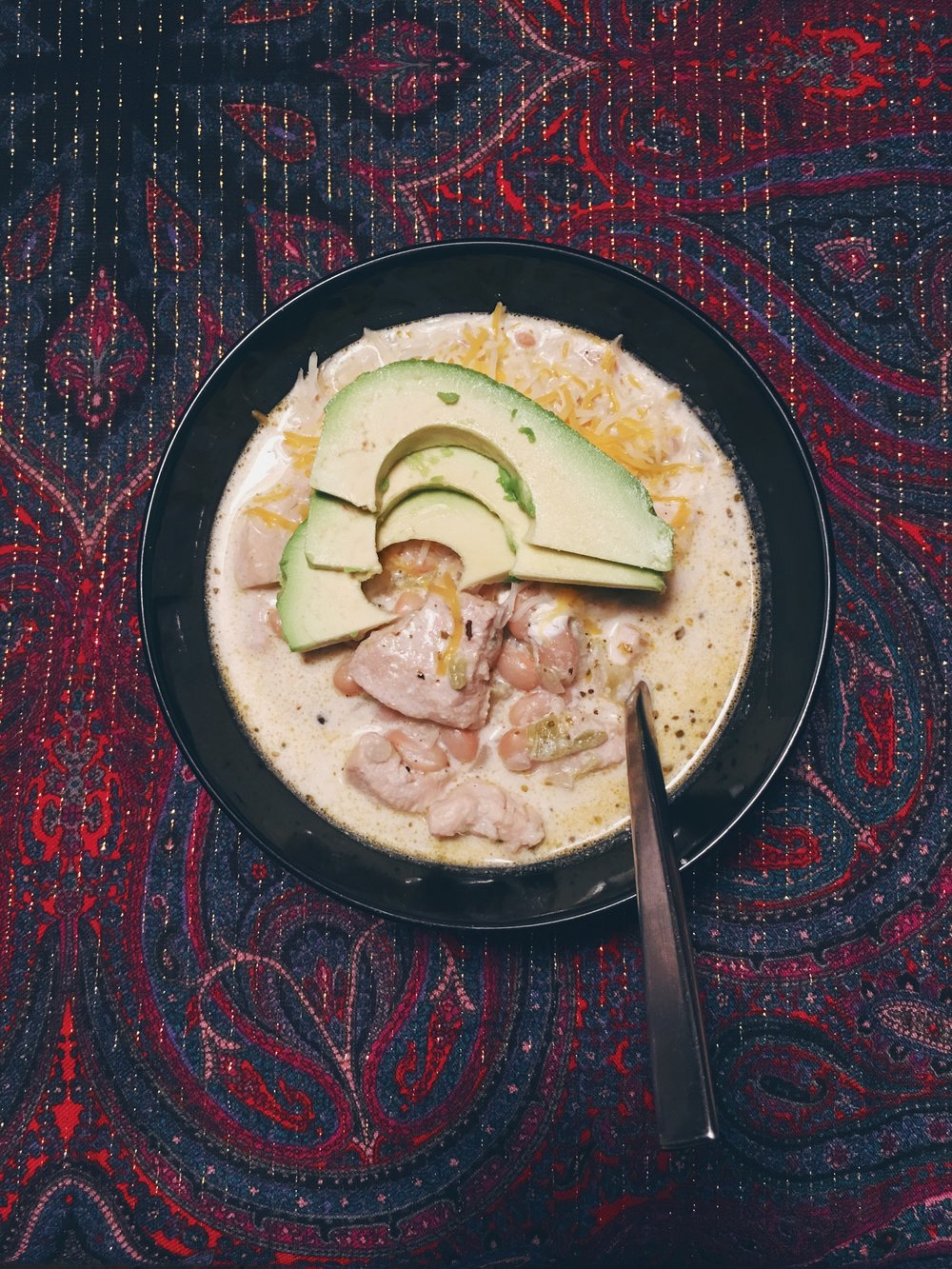 White Chicken Chili | Cassia & Co.