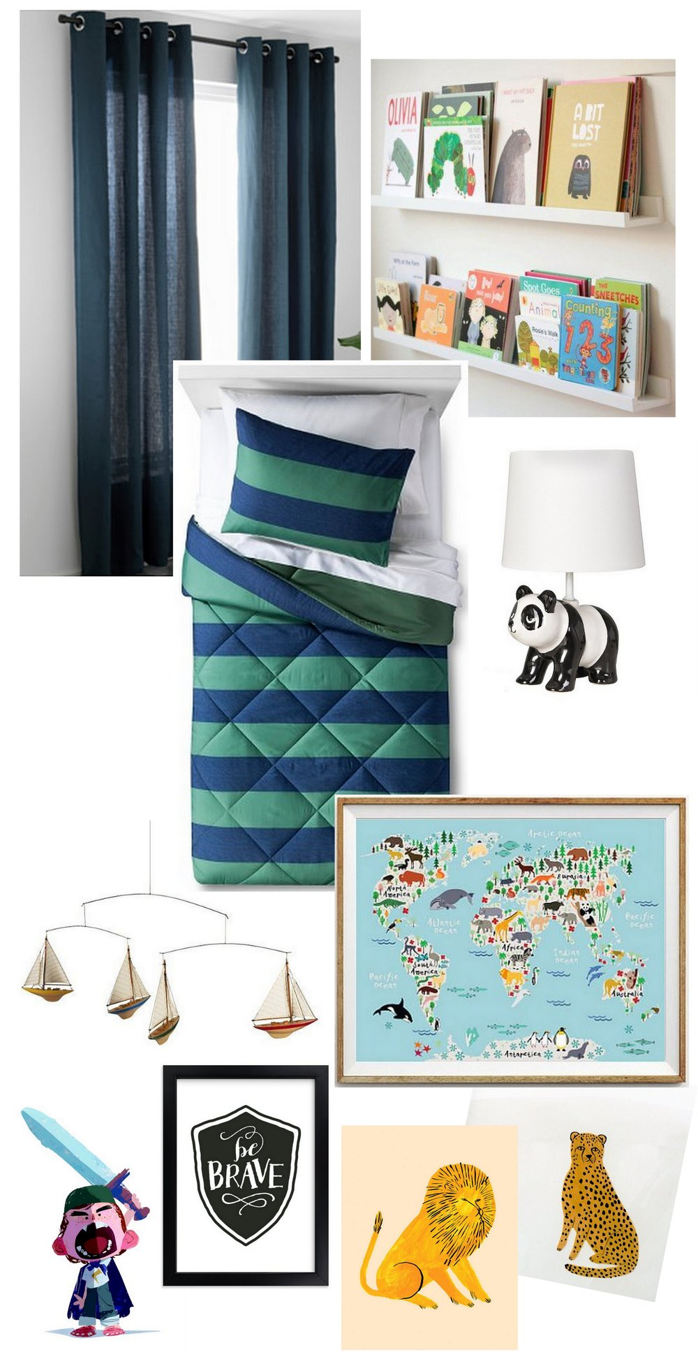 Inspiration for a Toddler Boy's Room | Cassia & Co.