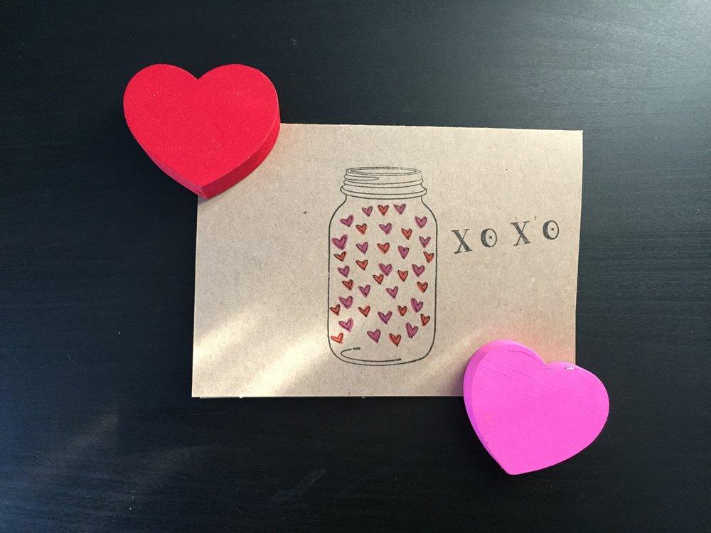 """Sending Hugs & Kisses"" Valentine | Cassia & Co."