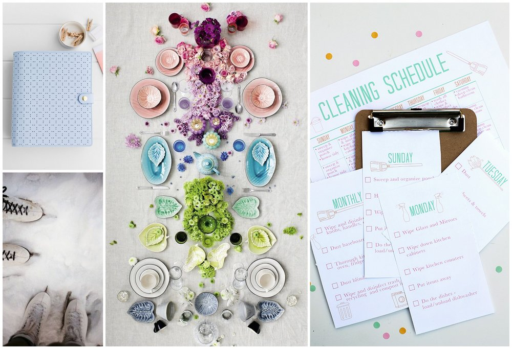 Monthly Moodboard - New Years and Fresh Starts