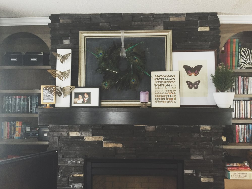 Everyday Mantle Decor | Cassia & Co.