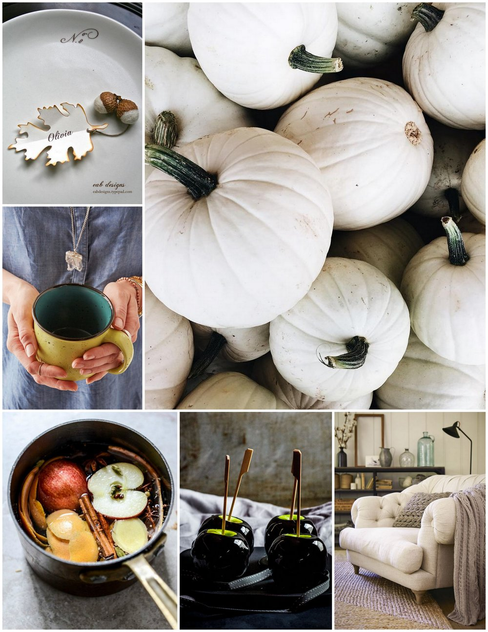 Monthly Moodboard: Getting Cozy | Cassia & Co.