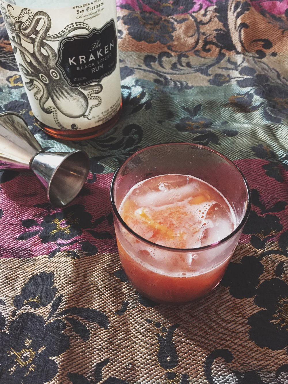 Peach & Rum Punch | Cassia & Co.