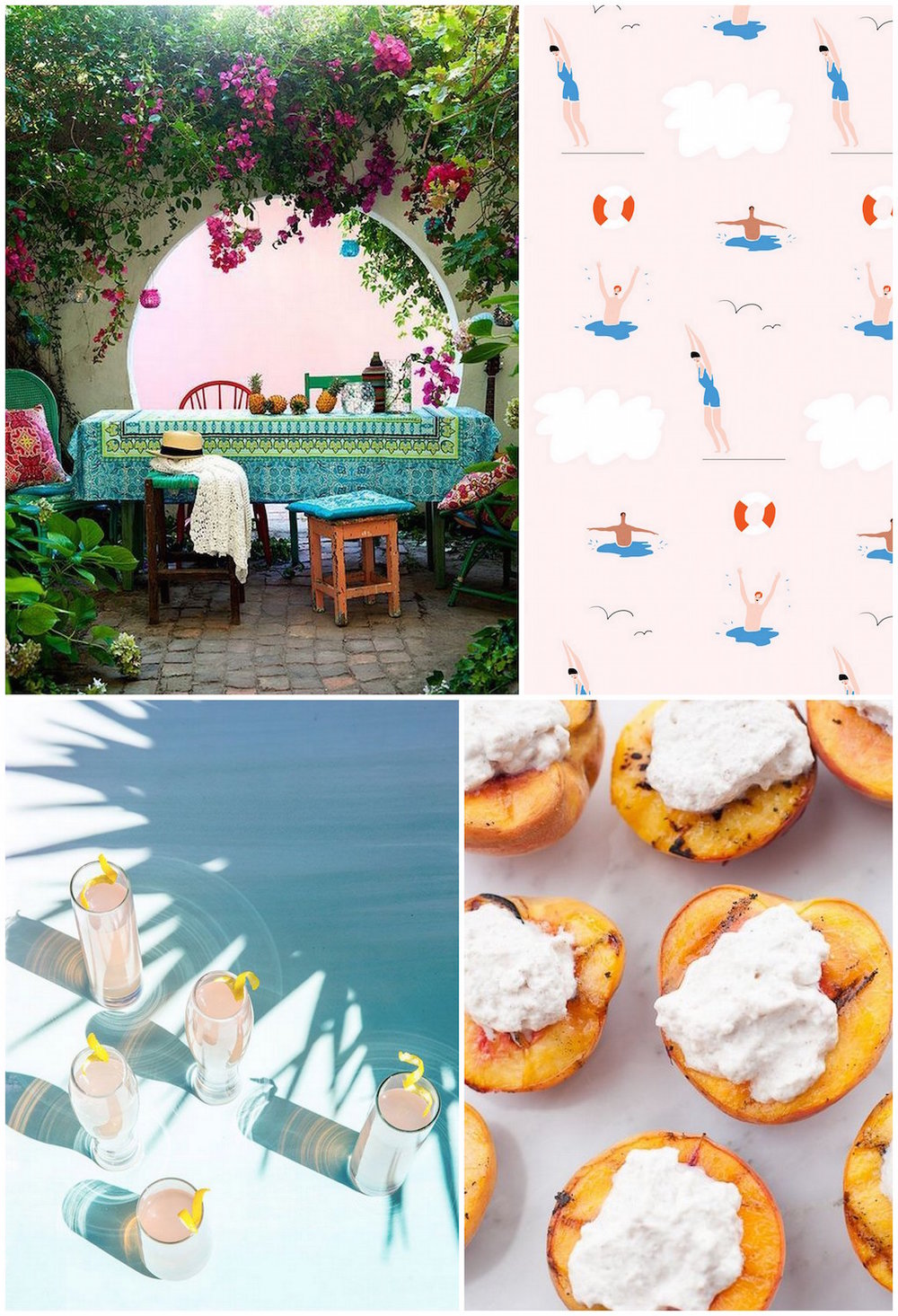 Monthly Moodboard - August | Cassia & Co