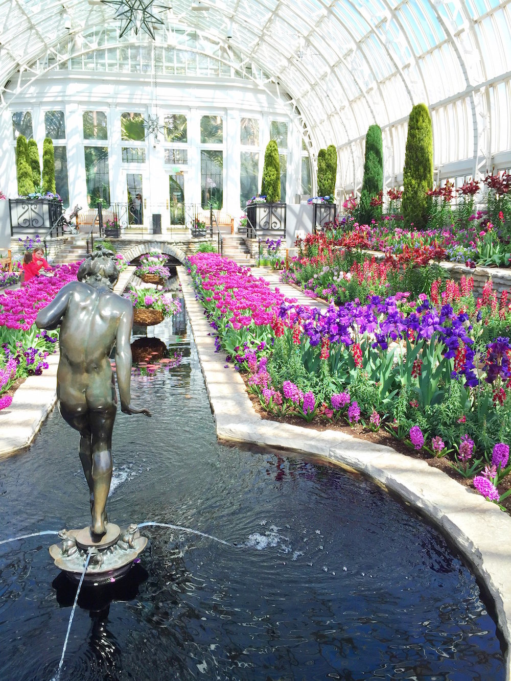 Como Conservatory - Sunken Garden
