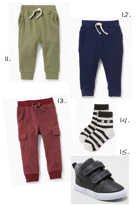 Finn's Fall Wishlist—Pants & Shoes