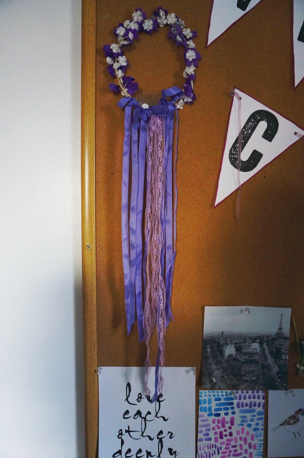 Penelope's Room (flower crown) | Cassia & Co.
