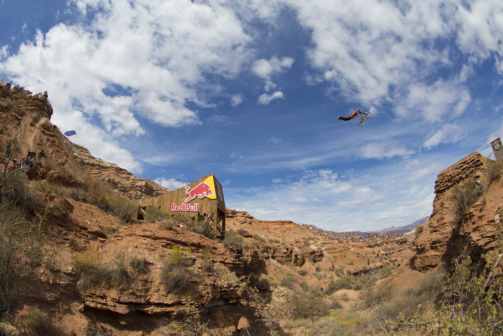Sam Reynolds Red Bull Rampage