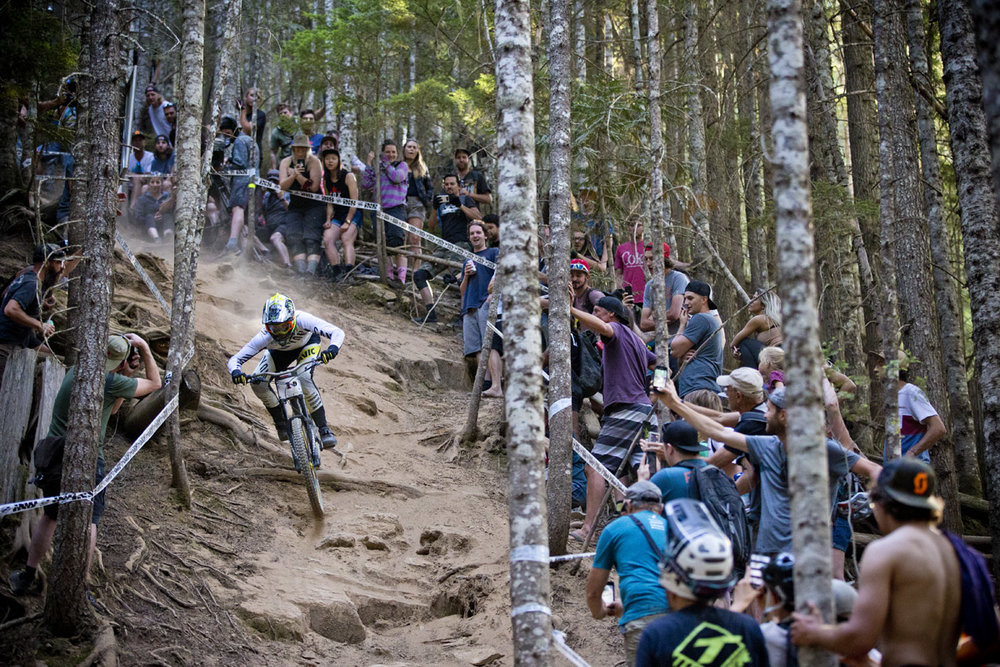 Troy Brosnan Whistler Crankworx Canadian Open Downhill