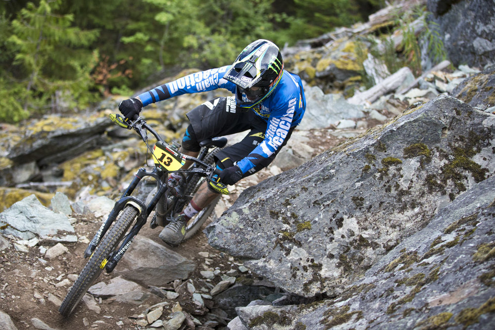 Sam Hill Whistler Enduro World Series