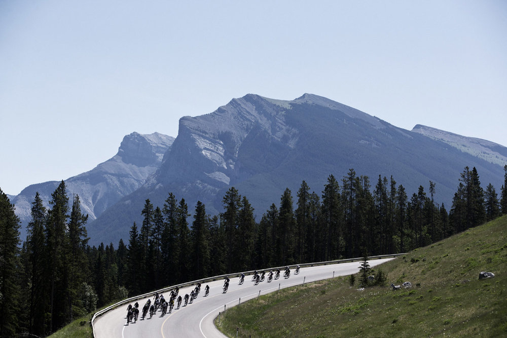 Rundle Mountain Road Race Canmore, Alberta