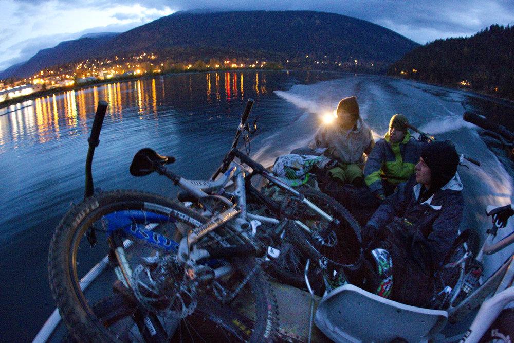 Garett Buehler, Nick Cima & Kurt Sorge Kootenay Lake, British Columbia