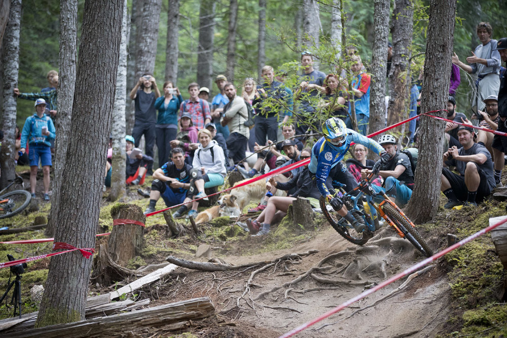 Martin Maes Whistler Enduro World Series