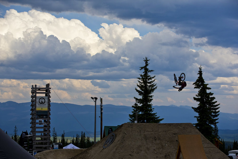 Dustin Gilding Kelowna Freeride Mountain World Bike Tour
