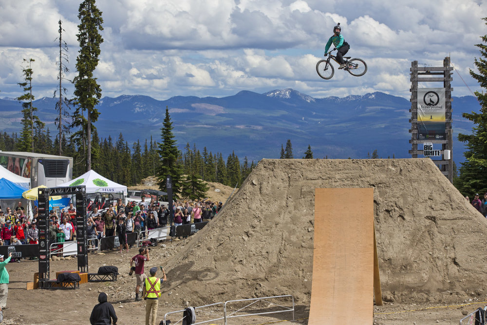 Nicoali Rogatkin Kelowna Freeride Mountain World Bike Tour
