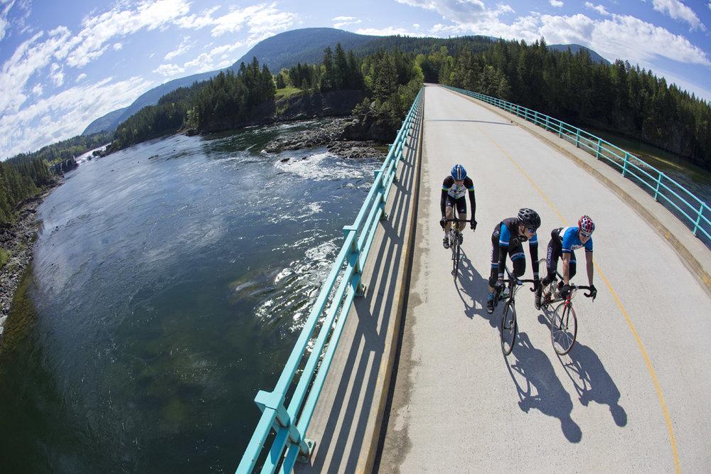 George Edney, Charles Arnold & Wayne Schaub Blewett, British Columbia