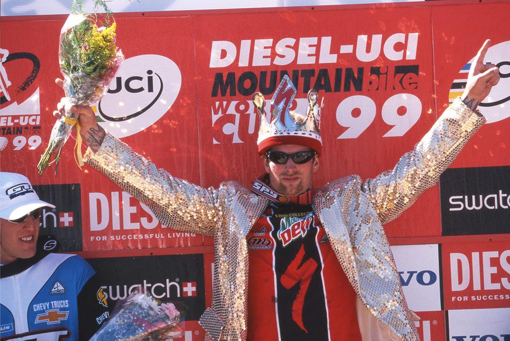 Shaun Palmer wins 1999 Big Bear World Cup Big Bear, California