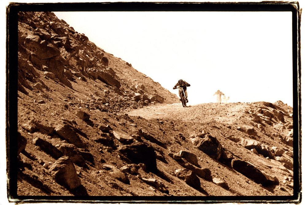 Brian Lopes - 1997 Kamikazee Downhill, Mammoth, CA