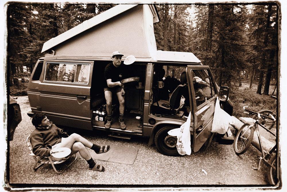 Pete Verheyde & John Brown - 1994 Jasper, Alberta