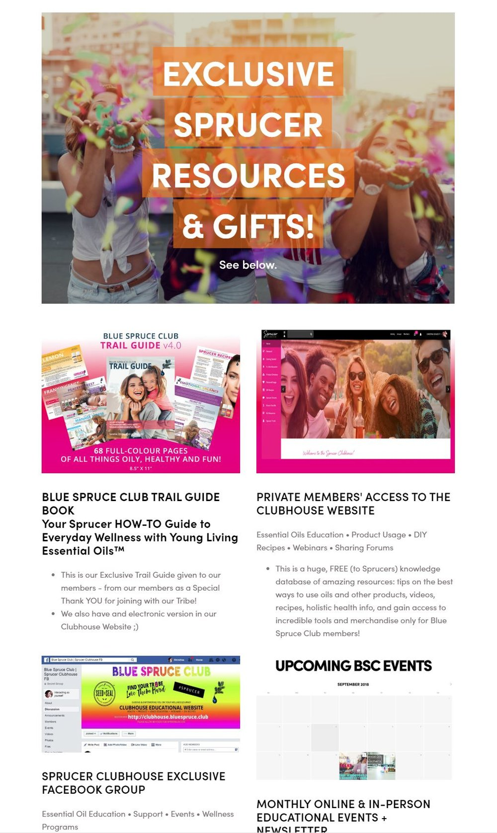 CHECK OUT ALL THE SPRUCER RESOURCES & GIFTS! -