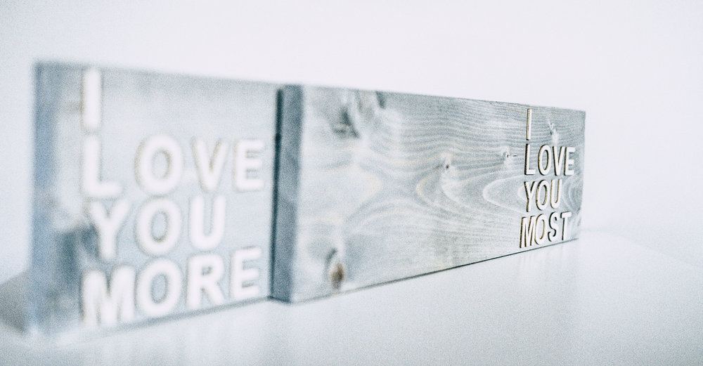 CUSTOM MAKE YOUR OWN SIGN -