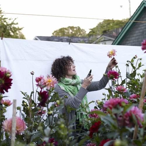 Sarah Nixon from My Luscious Backyard based in Toronto, ON  Photo Kristin Sjaarda
