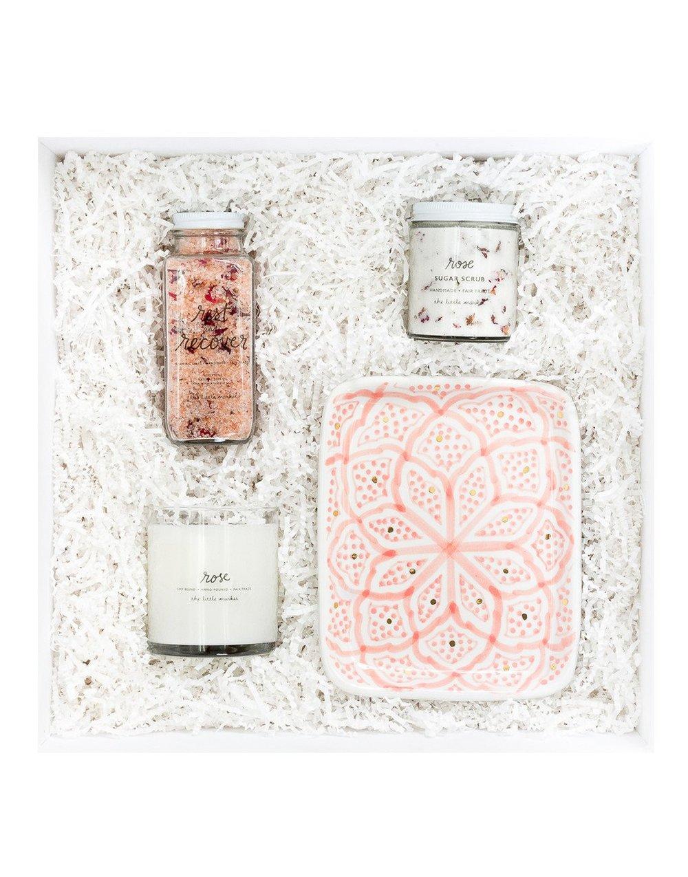 The Little Market Rose Gift Box