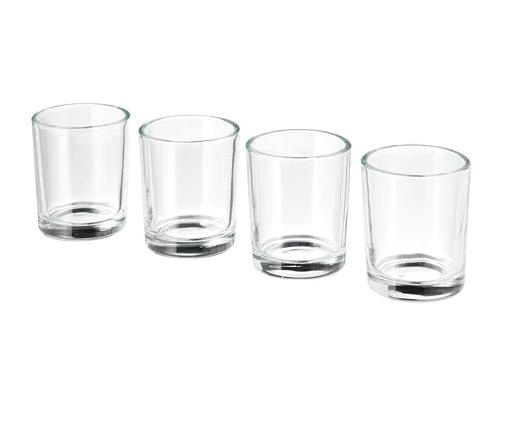 Glass Votive / #001 / $1