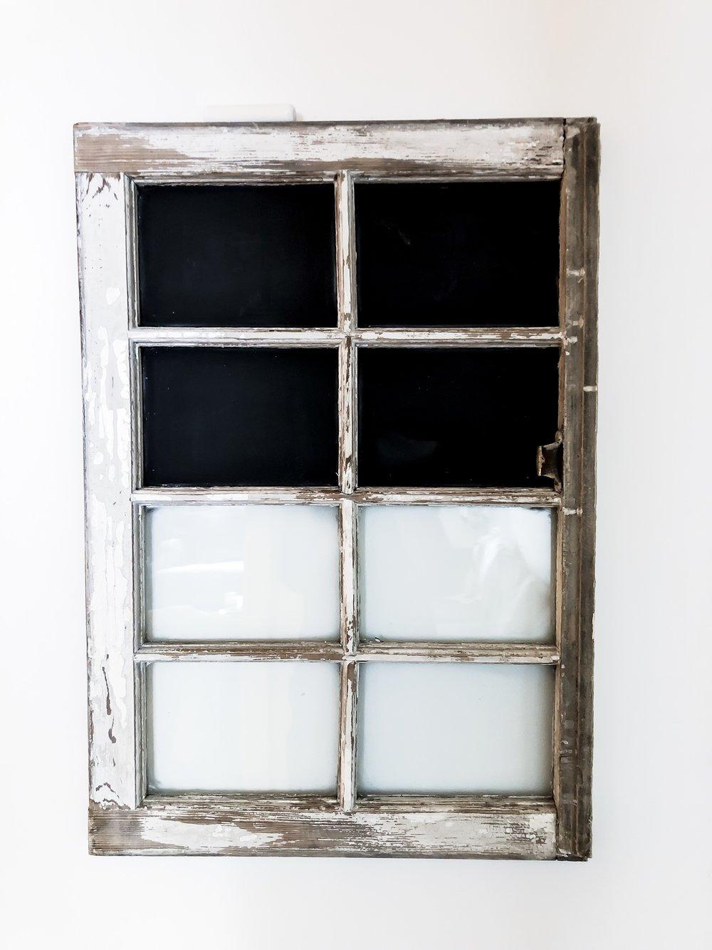 Chalk Window / #036 / $20