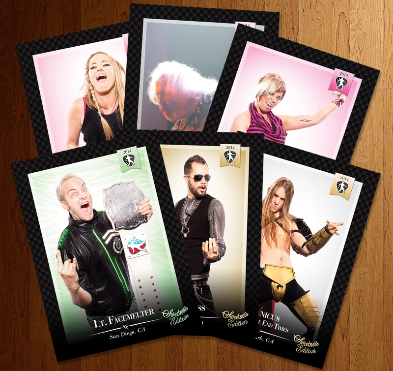 US Air Guitar trading cards