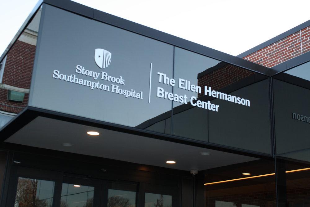 Breast Center entrance 2018.JPG