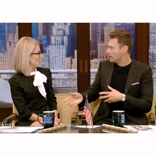 "Live With Kelly and Ryan, ""Chatting About Splash Mixers"""