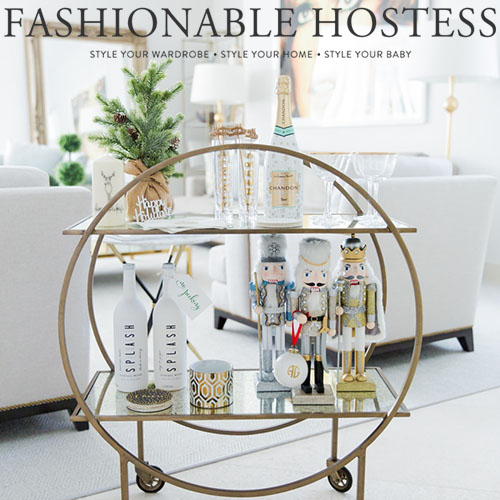 "Fashionable Hostess, ""Miami Holiday Home Tour 2016"""