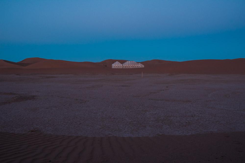 Camp Before Dawn